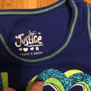 Justice Shirts & Tops - ❤️ Girls Justice tank tops ❤️